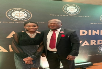 Alumnus Comes 3rd at Body of Senior Advocates of Nigeria 2019 Scholarship Dinner Awards