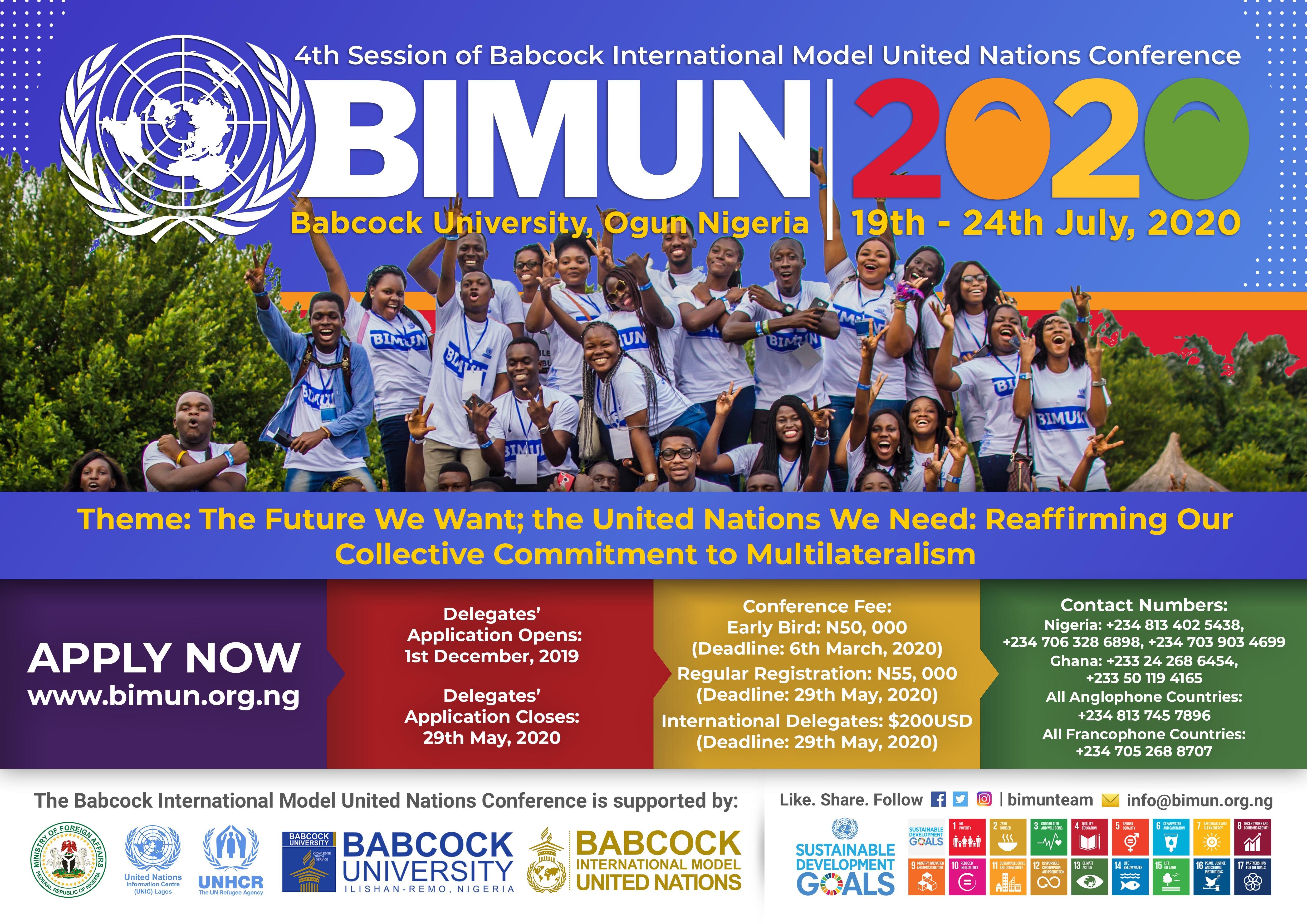 BIMUN 2020
