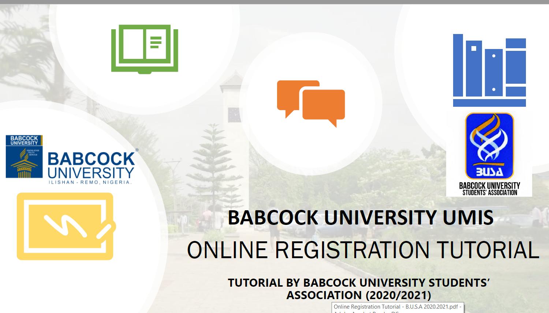 Online Registration Tutorial