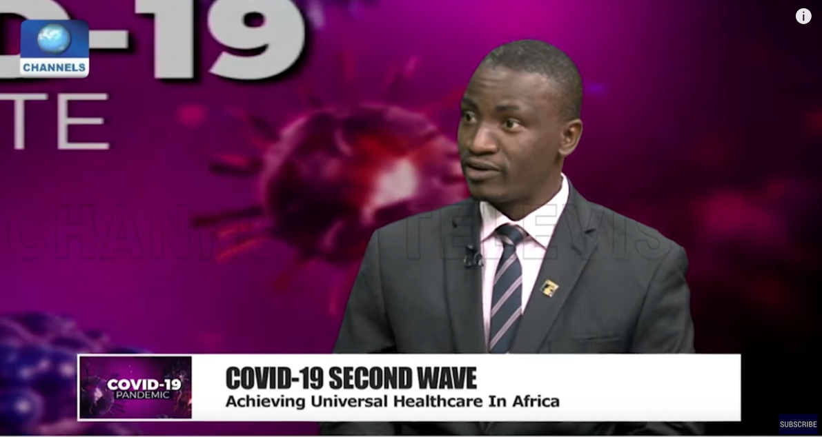 Dr Dangana shares how Africa can achieve Universal Healthcare on channels TV