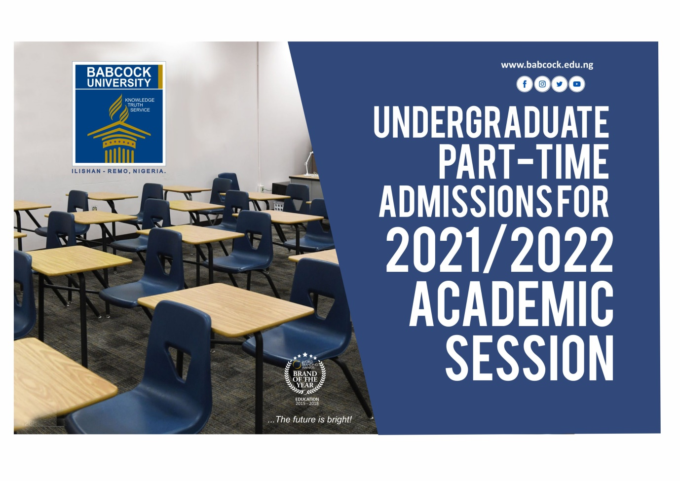 Application for Undergraduate Part-Time Admission is on !!