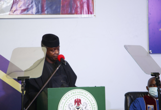 Vice President of Nigeria Commends Babcock, Adventist Church