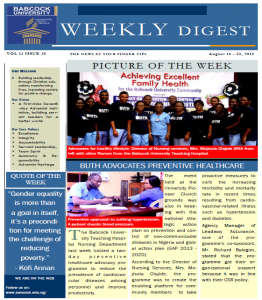 Babcock News Digest Volume 11 Issue 20