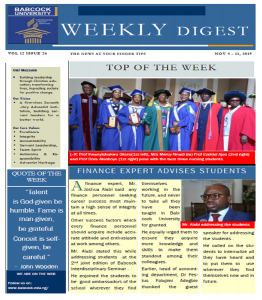 Babcock News Digest Volume 12 Issue 26
