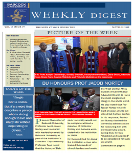 Babcock News Digest Volume 12 Issue 27